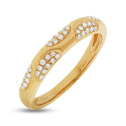 Madison E 0.21ct 14k Yellow Gold Diamond Lady