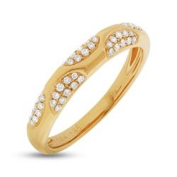 Madison E 0.21ct 14k Yellow Gold Diamond Lady
