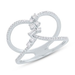 Madison E 0.33ct 14k White Gold Diamond Lady