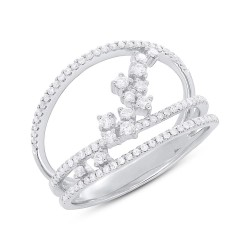 Madison E 0.43ct 14k White Gold Diamond Lady