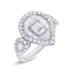 Madison E 1.60ct 14k White Gold Diamond Lady