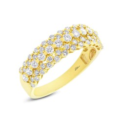 Madison E 0.98ct 18k Yellow Gold Diamond Lady