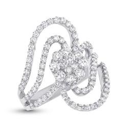 Madison E 1.83ct 18k White Gold Diamond Lady