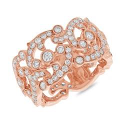 Madison E 2.16ct 14k Rose Gold Diamond Lady