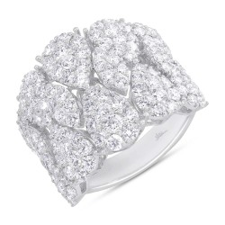 Madison E 3.63ct 14k White Gold Diamond Lady