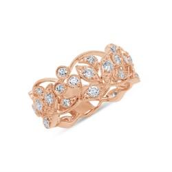 Madison E 1.26ct 14k Rose Gold Diamond Lady