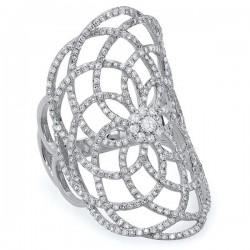 Madison E 1.22ct 14k White Gold Diamond Lace Lady