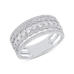 Madison E 0.86ct 14k White Gold Diamond Lady