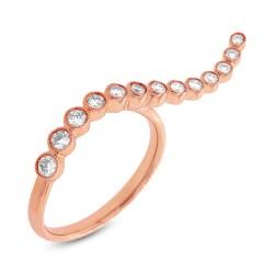 Madison E 0.44ct 14k Rose Gold Diamond Lady