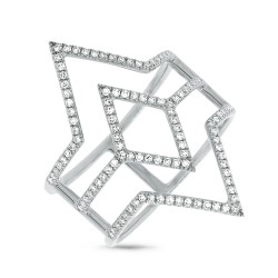 Madison E 0.31ct 14k White Gold Diamond Lady