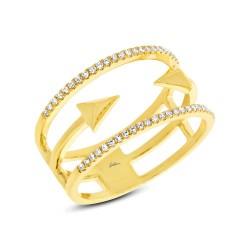 Madison E 0.15ct 14k Yellow Gold Diamond Lady