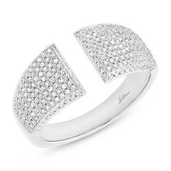 Madison E 0.60ct 14k White Gold Diamond Pave Lady