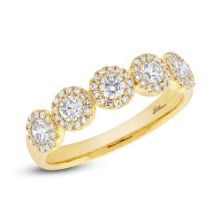Madison E 0.70ct 14k Yellow Gold Diamond Lady