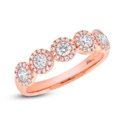 Madison E 0.70ct 14k Rose Gold Diamond Lady