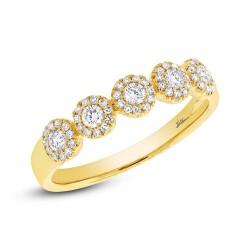 Madison E 0.40ct 14k Yellow Gold Diamond Lady