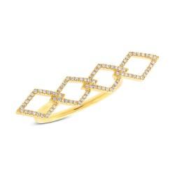Madison E 0.17ct 14k Yellow Gold Diamond Lady