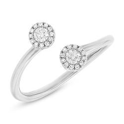 Madison E 0.23ct 14k White Gold Diamond Lady