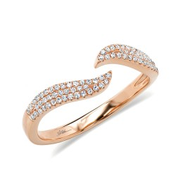 Madison E 0.17ct 14k Rose Gold Diamond Lady