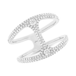 Madison E 0.54ct 14k White Gold Diamond Lady