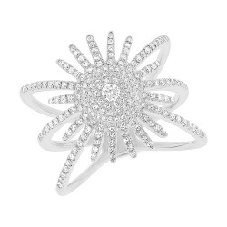 Madison E 0.58ct 14k White Gold Diamond Lady