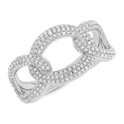 Madison E 0.55ct 14k White Gold Diamond Lady