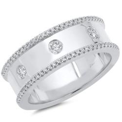 Madison E 0.35ct 14k White Gold Diamond Lady