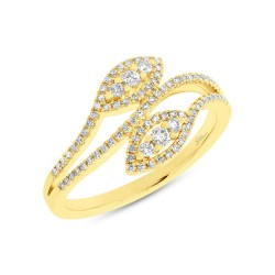 Madison E 0.31ct 14k Yellow Gold Diamond Lady
