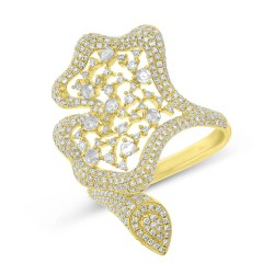 Madison E 1.22ct 14k Yellow Gold Diamond Lady