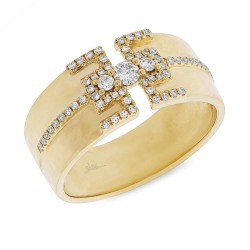 Madison E 0.27ct 14k Yellow Gold Diamond Lady