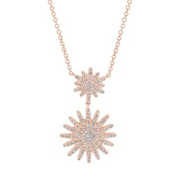 Madison E 0.32ct 14k Rose Gold Diamond Lady