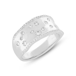 Madison E 0.46ct 14k White Gold Diamond Lady