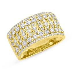 Madison E 1.08ct 14k Yellow Gold Diamond Lady