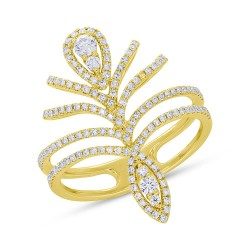 Madison E 0.52ct 14k Yellow Gold Diamond Lady
