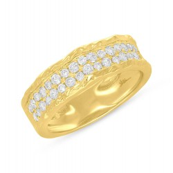 Madison E 0.60ct 14k Yellow Gold Diamond Lady
