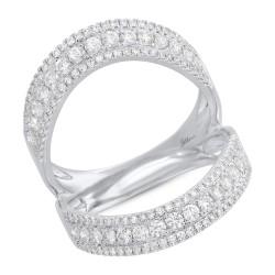 Madison E 0.99ct 14k White Gold Diamond Lady