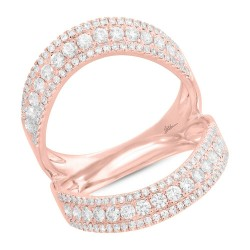 Madison E 0.99ct 14k Rose Gold Diamond Lady
