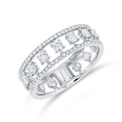 Madison E 0.52ct 14k White Gold Diamond Lady