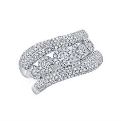 Madison E 0.98ct 14k White Gold Diamond Lady