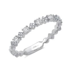 Madison E 0.29ct 14k White Gold Diamond Lady
