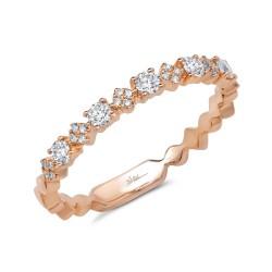 Madison E 0.29ct 14k Rose Gold Diamond Lady