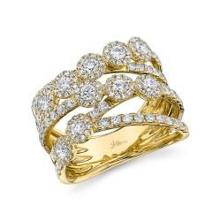 Madison E 1.54ct 14k Yellow Gold Diamond Lady