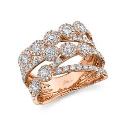 Madison E 1.54ct 14k Rose Gold Diamond Lady