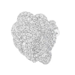 Madison E 5.62ct 18k White Gold Diamond Lady
