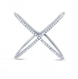 Madison E 0.18ct 14k White Gold Diamond Lady's