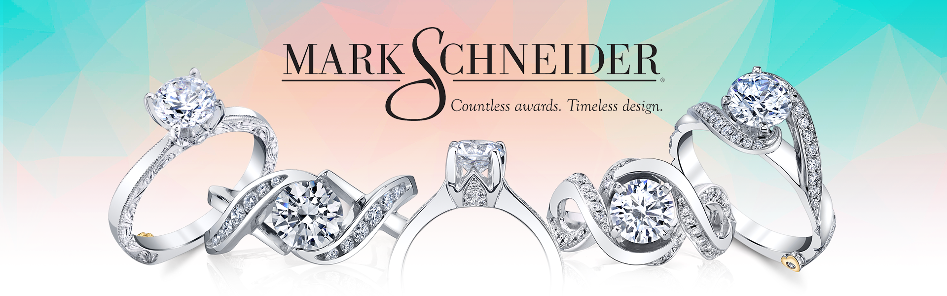 Mark Schneider Countless Awards. Timeless Design.
